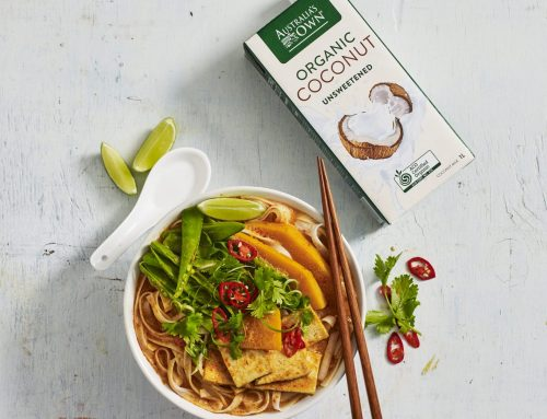 Pumpkin & Tofu Vegan Laksa