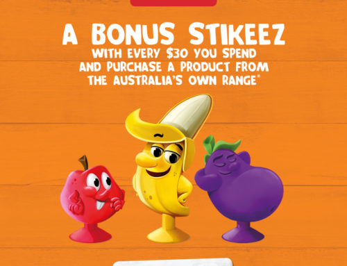 Fresh Stikeez & Australia's Own at Coles!