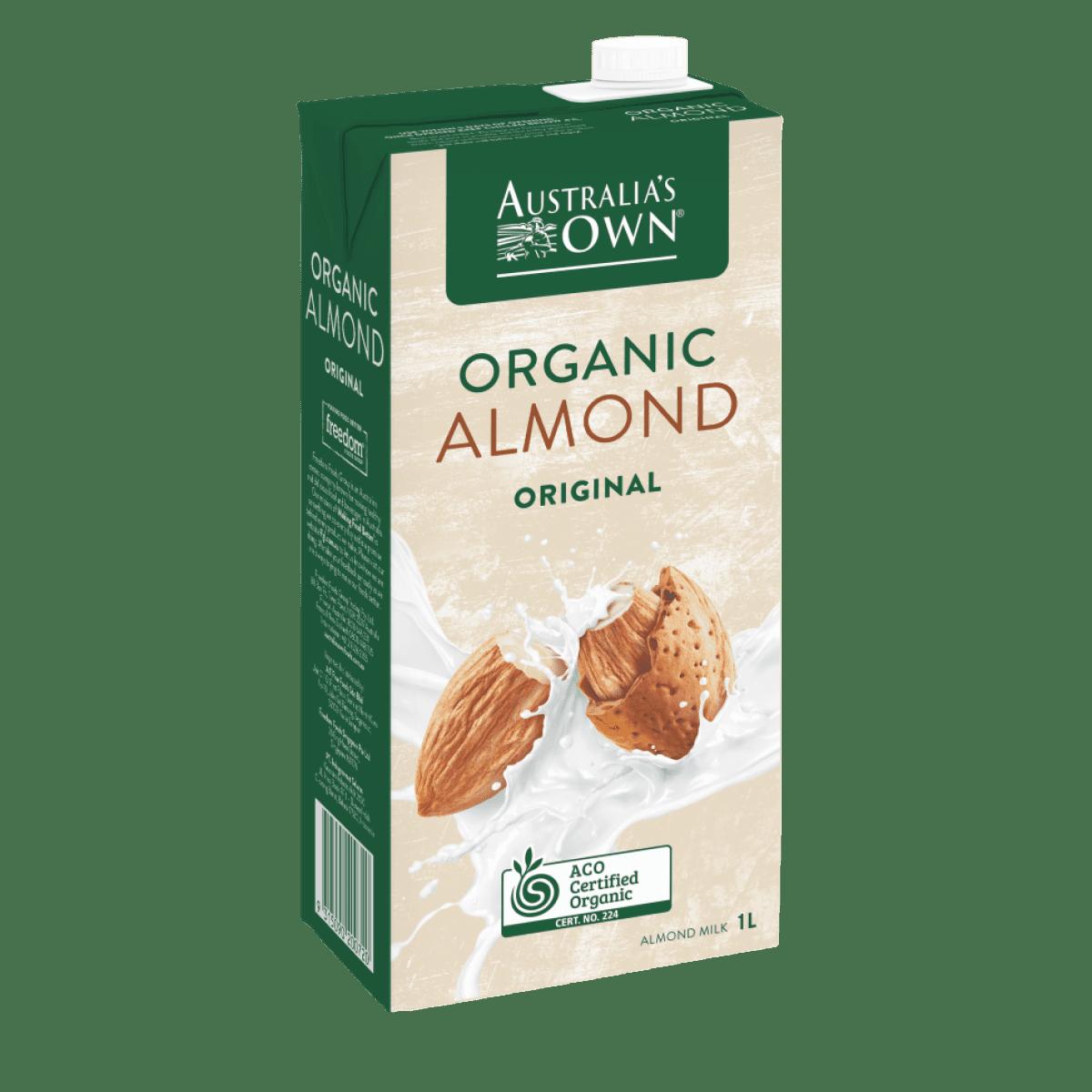 Susu almond organik ini cocok dikonsumsi oleh ibu hamil (Foto: Australia's Own)