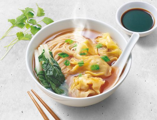 Wonton in Spicy Broth