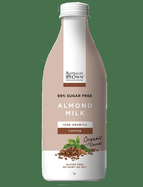 Australias Own Flavoured Almond Milk - Iced Arabica Coffee