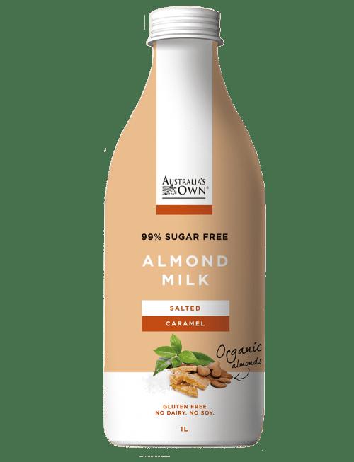 Australias Own Flavoured Almond Milk - Salted Caramel