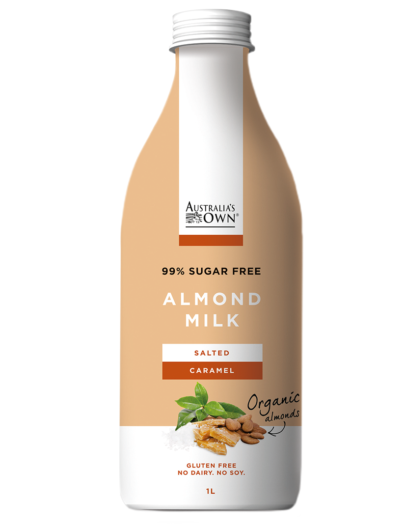 Australias Own Flavoured Almond Milk - Salted Caramel