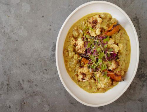 Chickpea & Roast Vegetable Curry