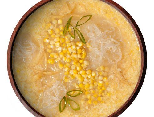 Vermicelli & Sweet Corn Soup